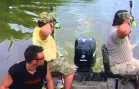 Asian Carp Extreme Bowfishing